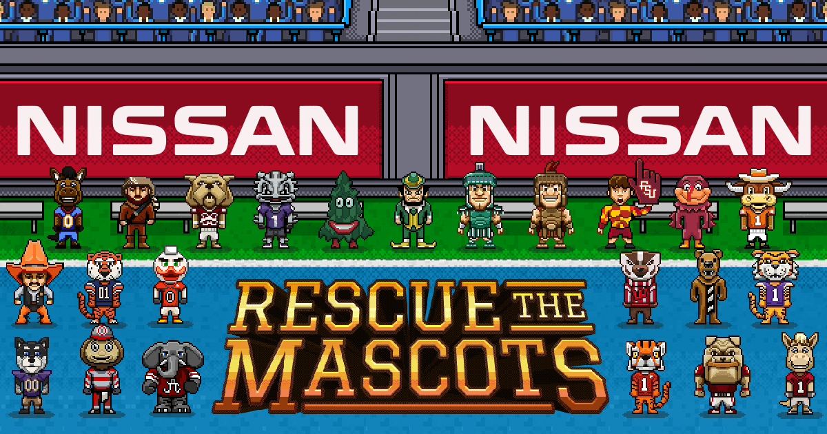 Heisman House: Rescue the Mascots