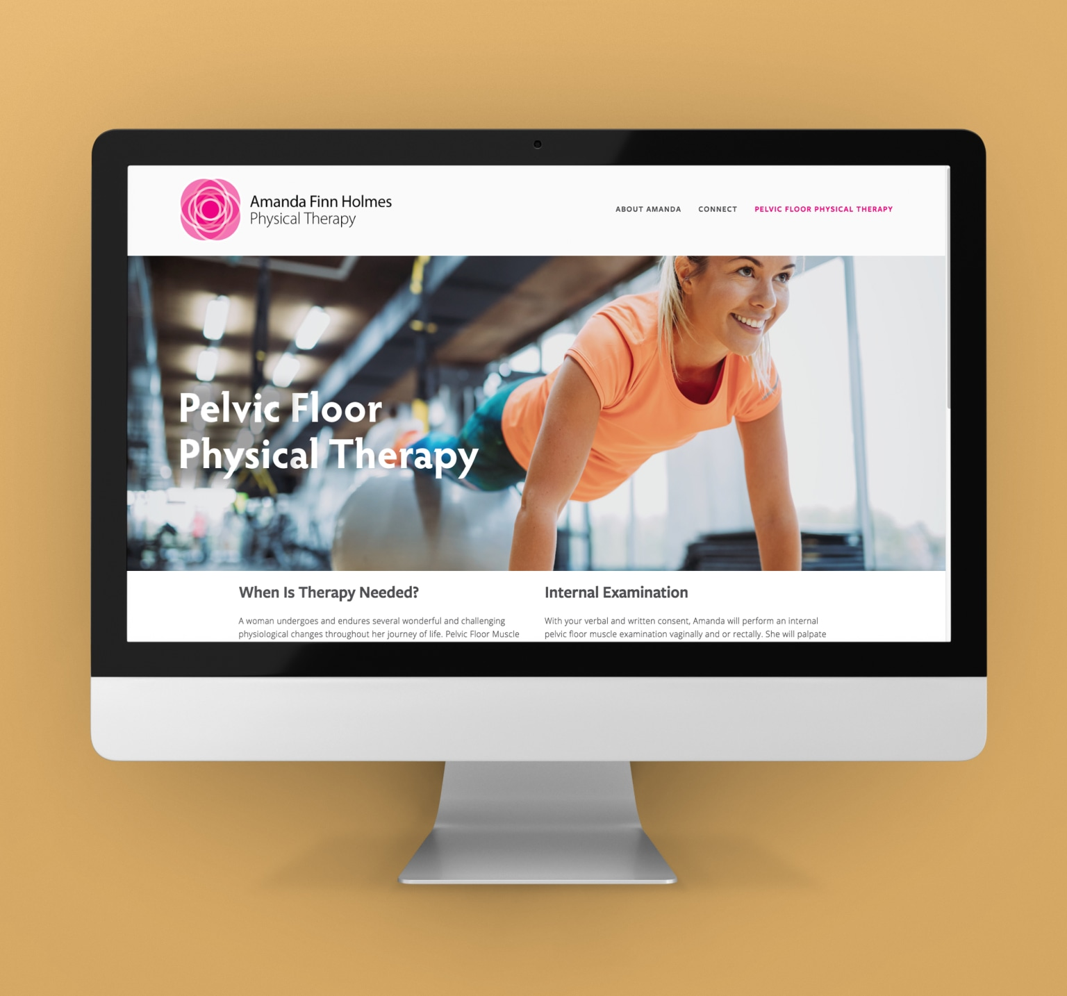 Amanda Finn Holmes Physical Therapy Branding & Website