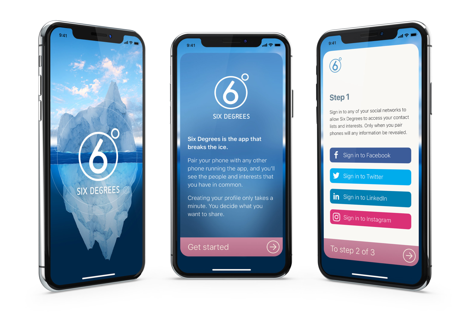 6 degrees networking app