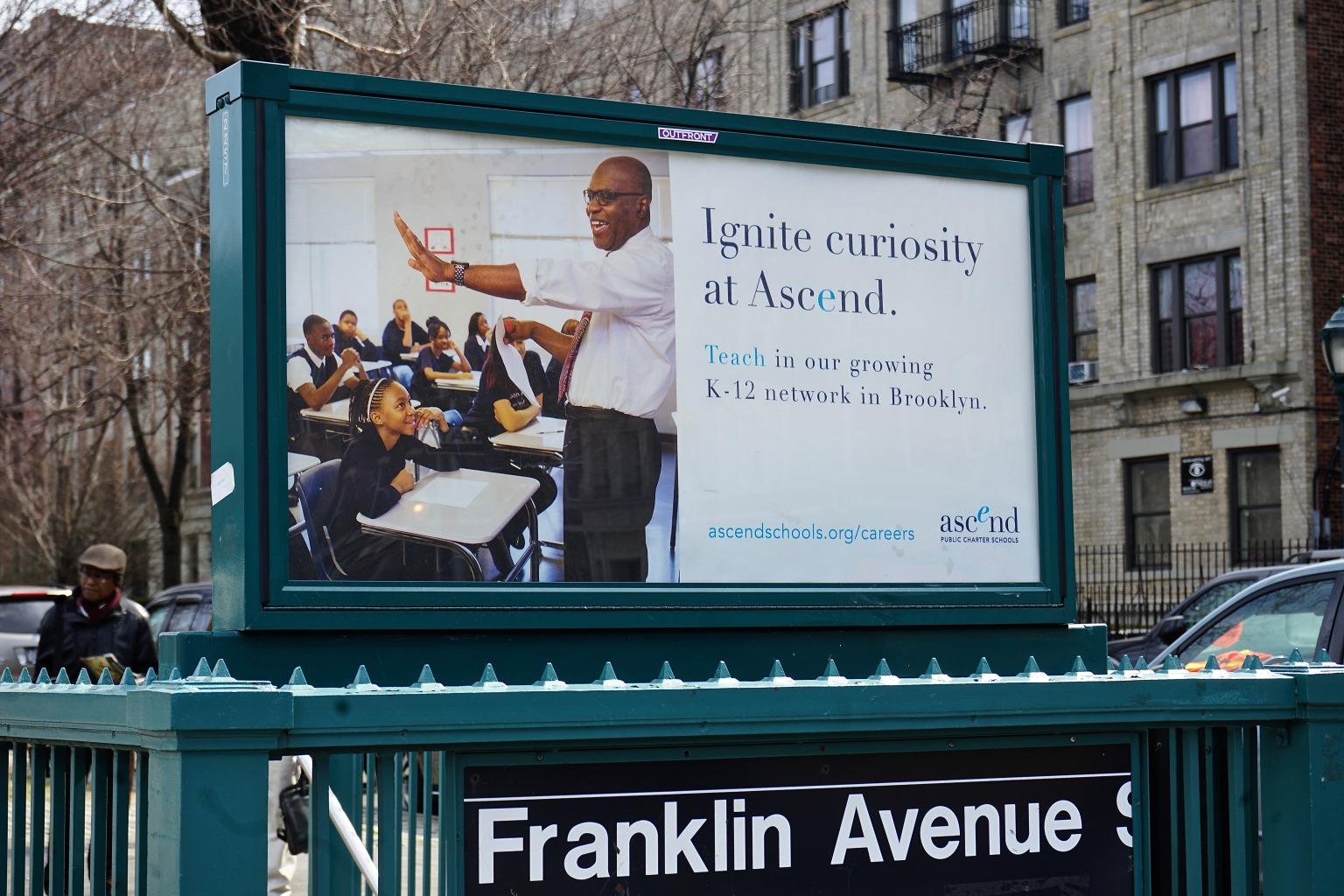 Ascend Learning Subway + Bus Ads