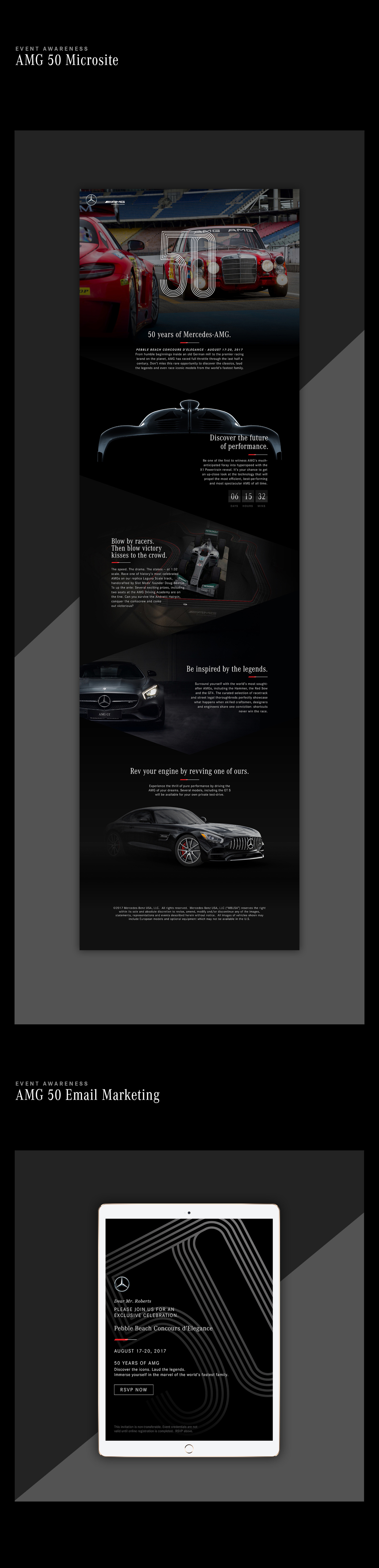 Mercedes-Benz AMG 50th Anniversary