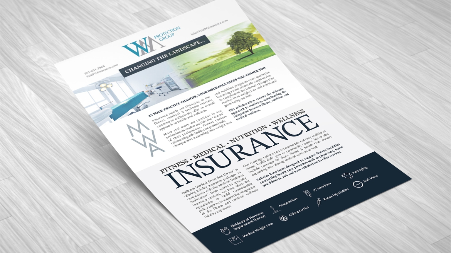 WM Protection Group - Brand & Website Development