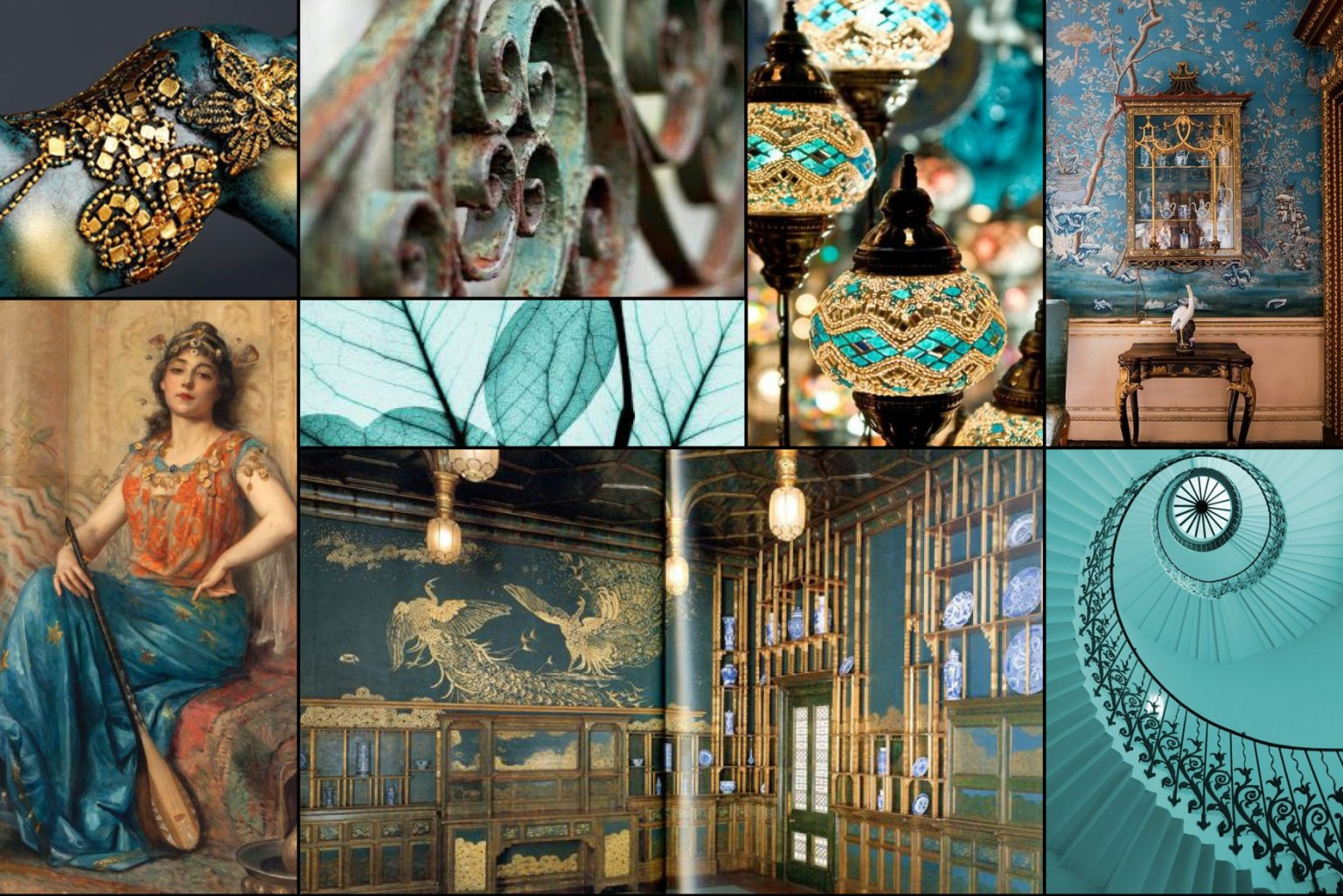 Mood boards for Luxury Fashion Brand