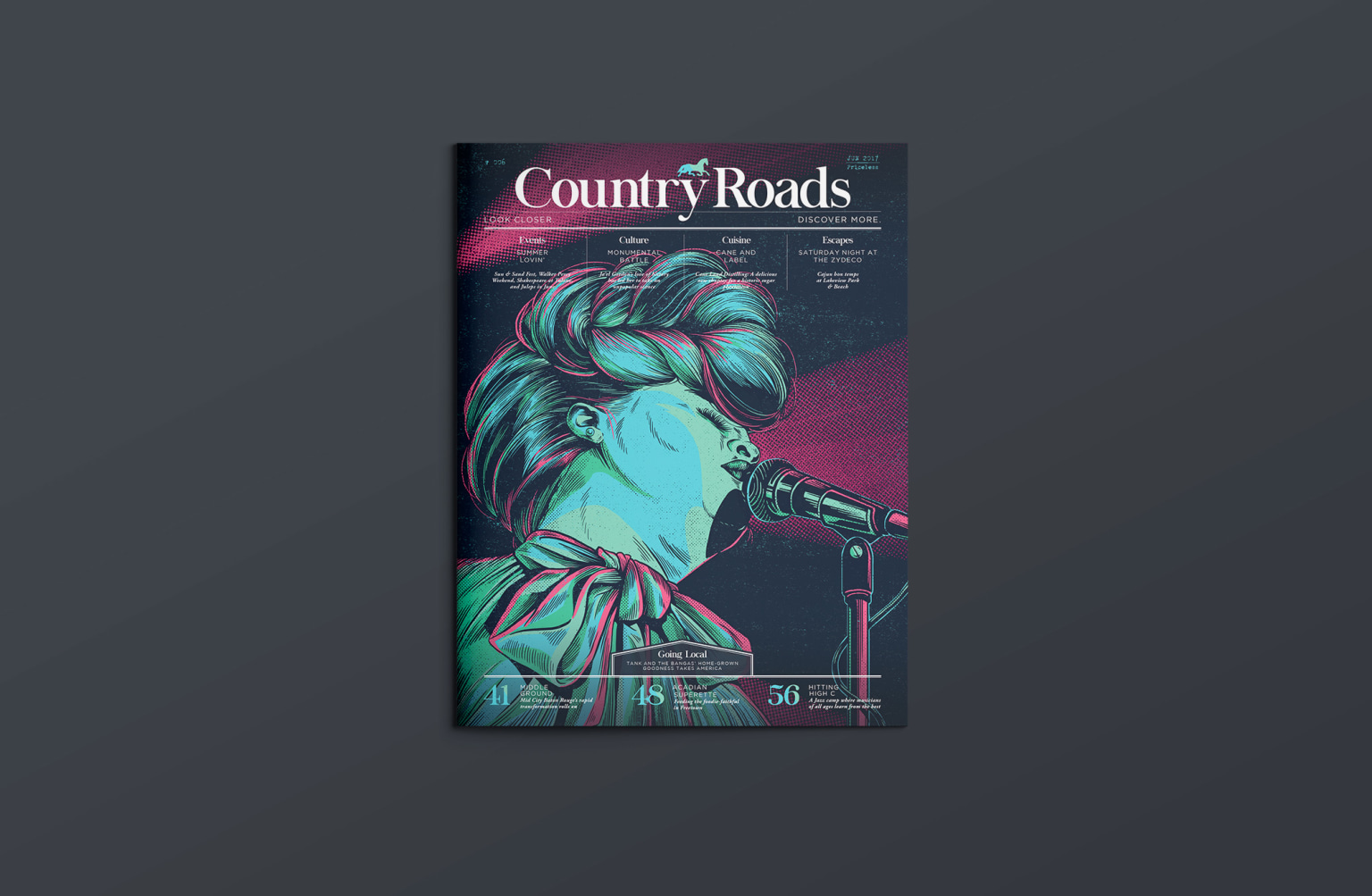Creative Direction for Country Roads Magazine