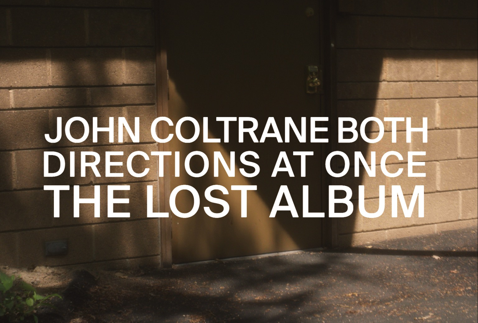 """John Coltrane """"All Directions at Once"""""""