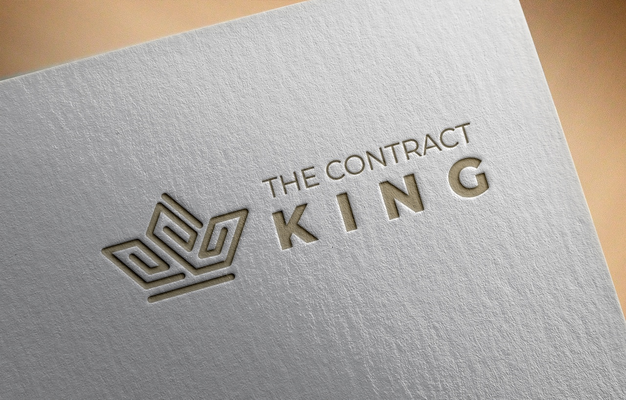 Logo design for The Contract King