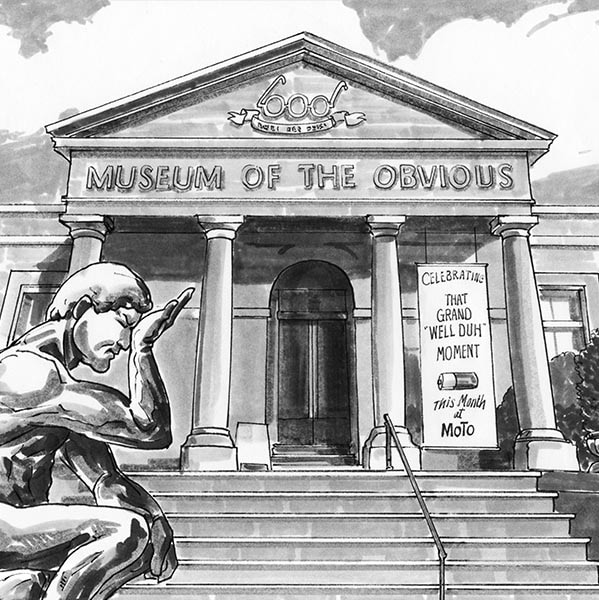 The Museum of the Obvious
