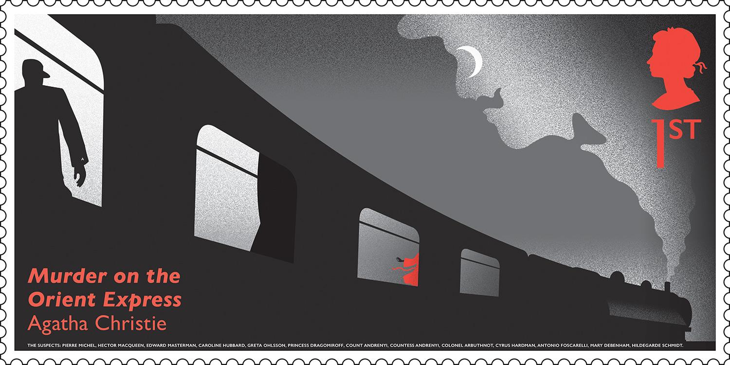 Royal Mail - Agatha Christie stamps