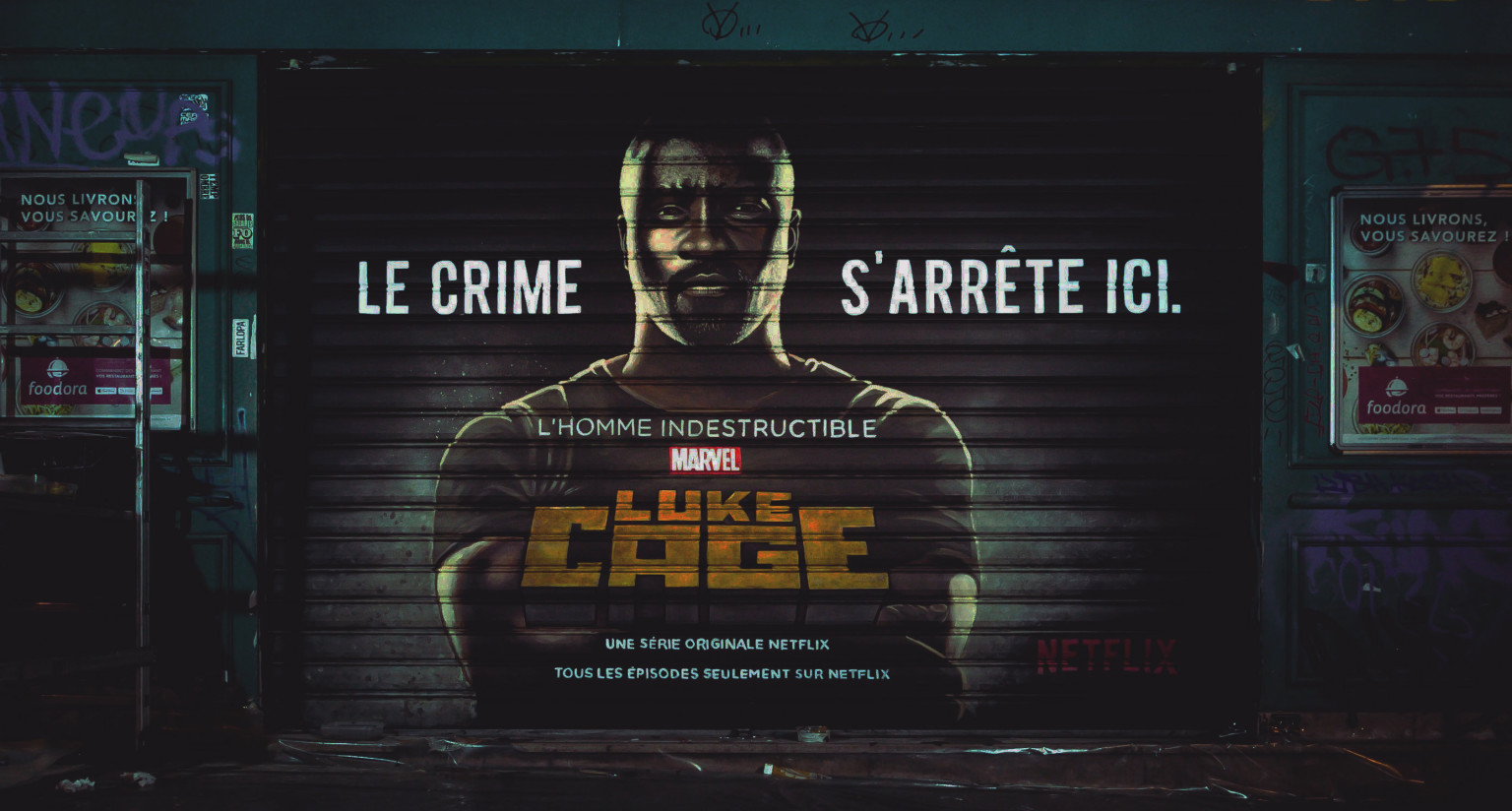 Luke Cage's Cages