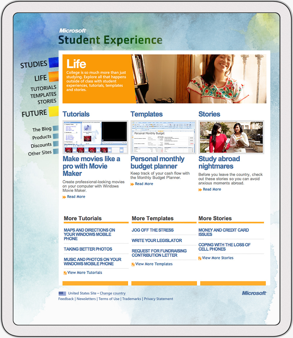 Microsoft / Student Experience