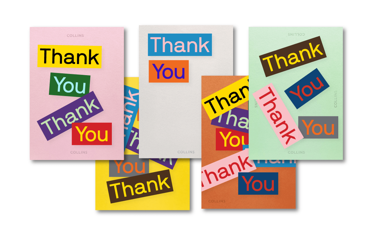 Collins Thank You Cards