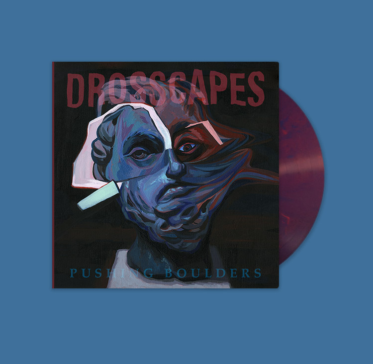 Drosscapes - Pushing Boulders - Cover art