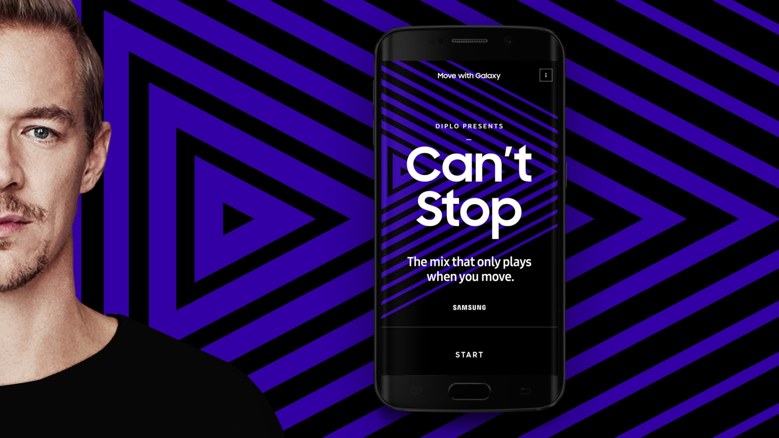 Samsung x Diplo | Can't Stop