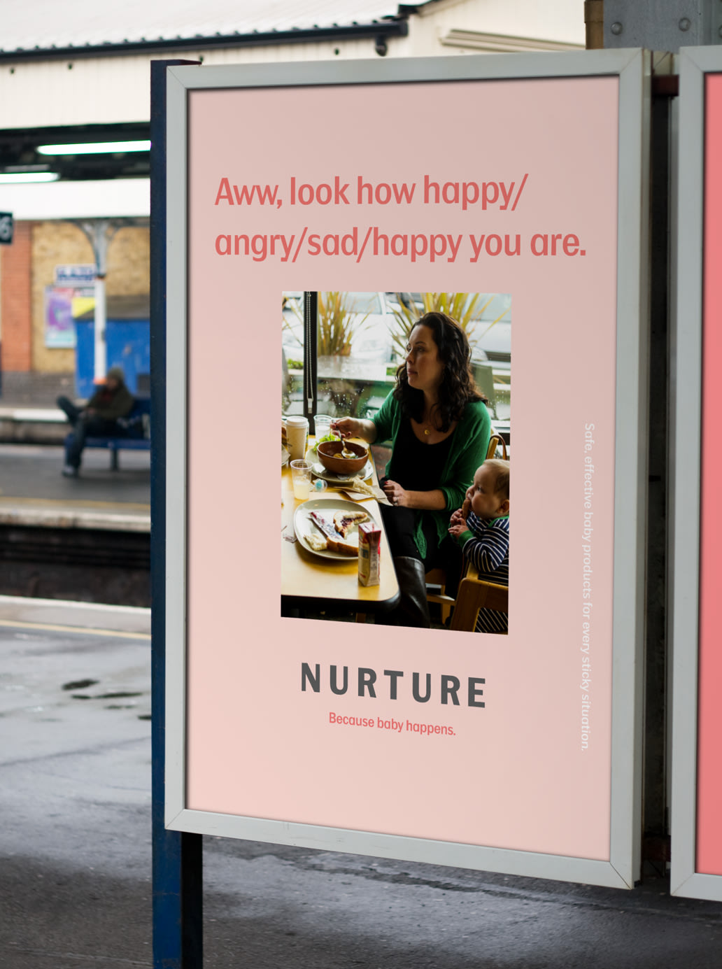 Nurture–because baby happens.
