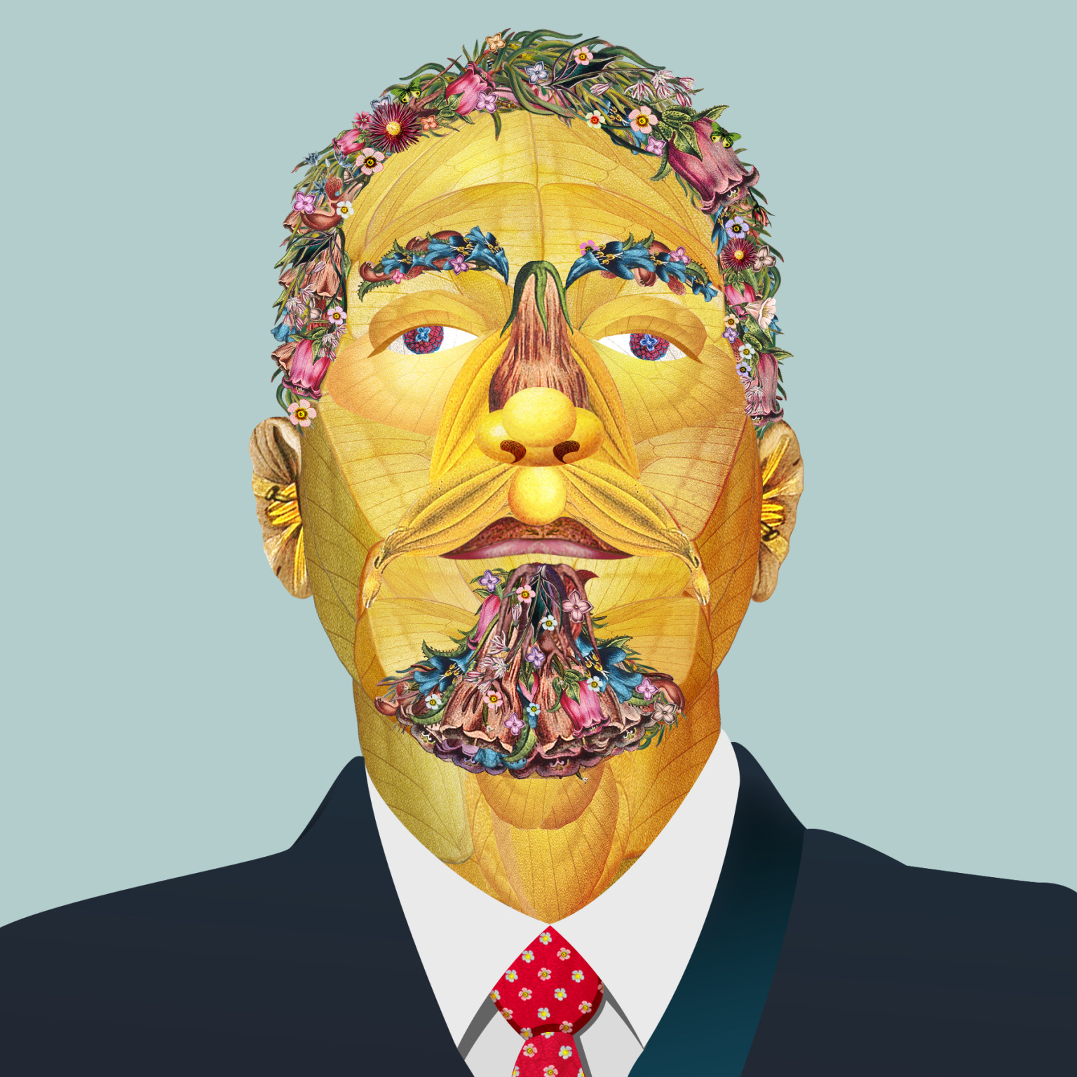 """""""Cultivated Man"""" Illustration"""