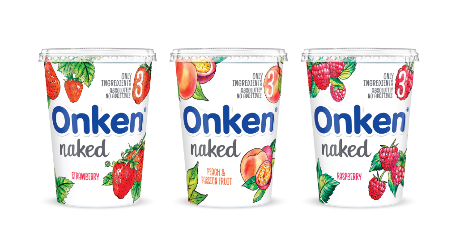 Onken Naked – ATL Launch Campaign