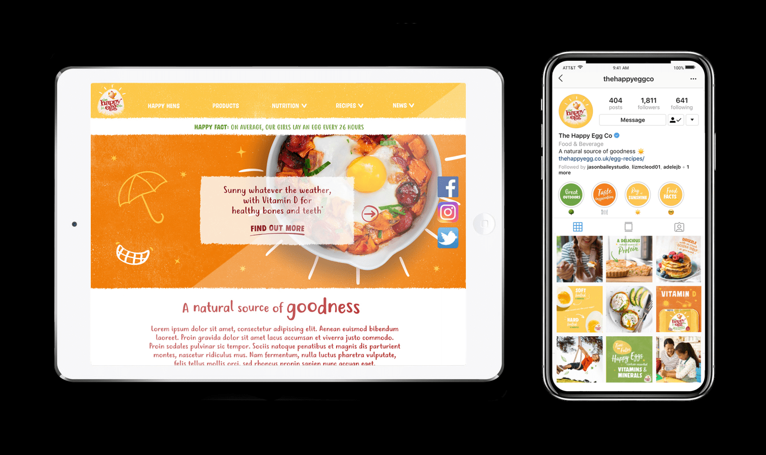 The Happy Egg Co. – Brand Refresh