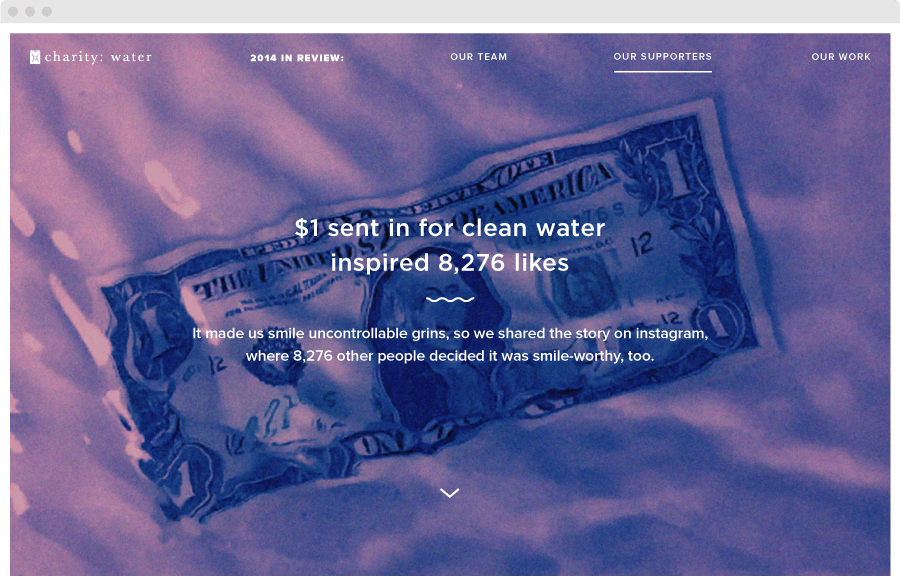 charity: water Annual Report