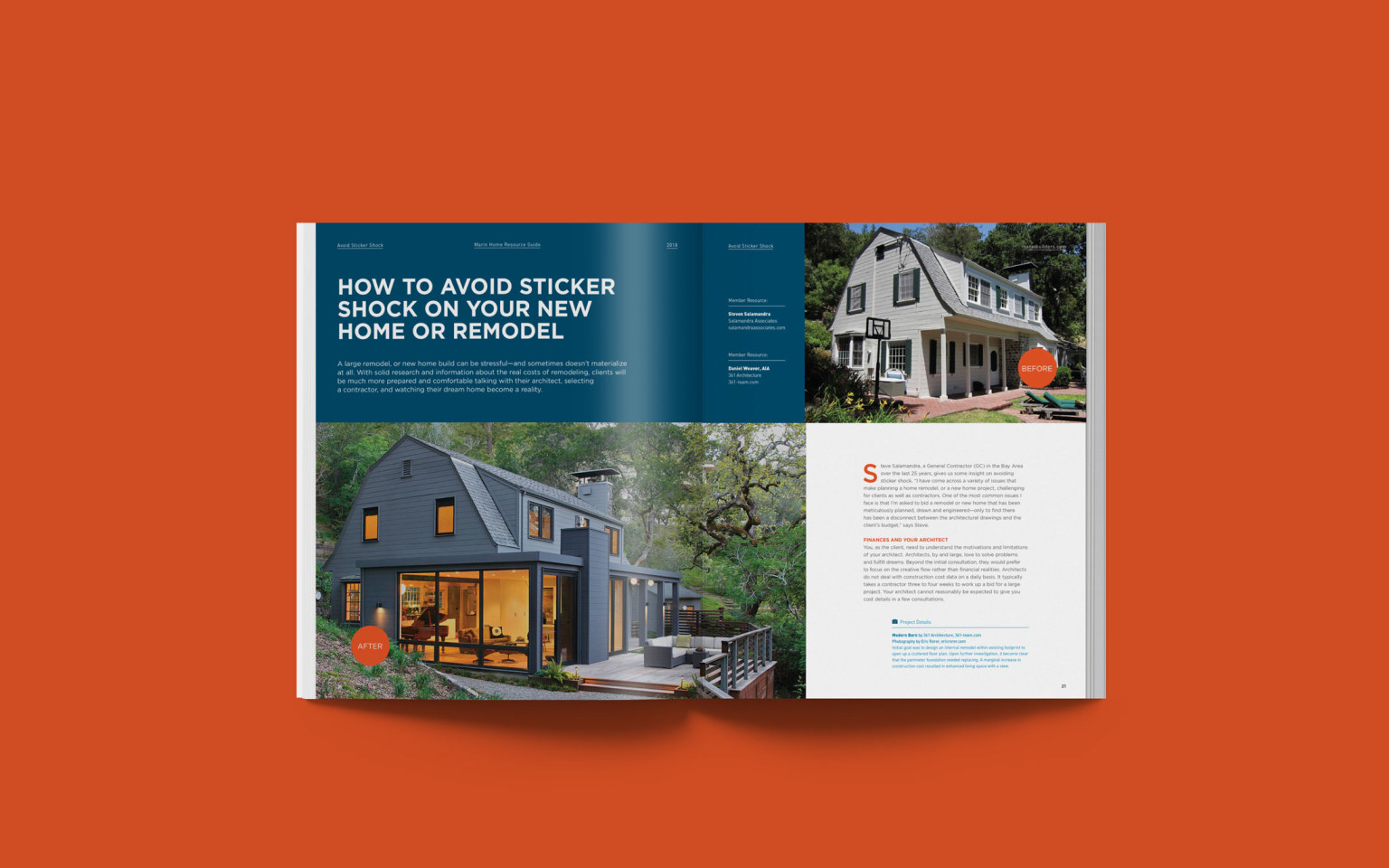 Design & Content Strategy for Marin Home Resource Guide