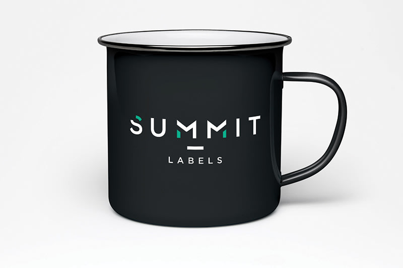 Summit Labels Rebrand, Website and Branded Materials