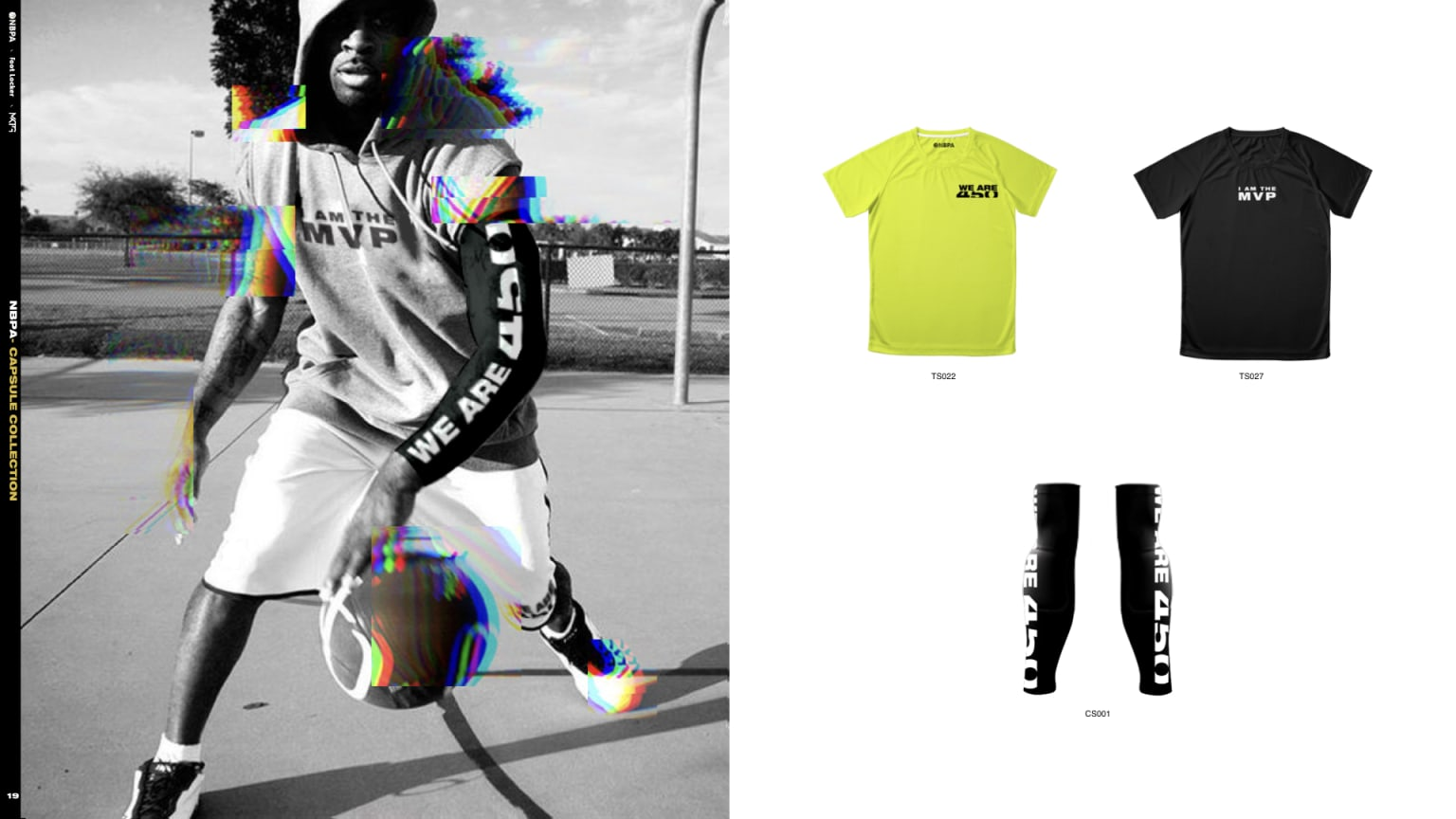 NBPA Player's Voice Awards & Capsule Collection