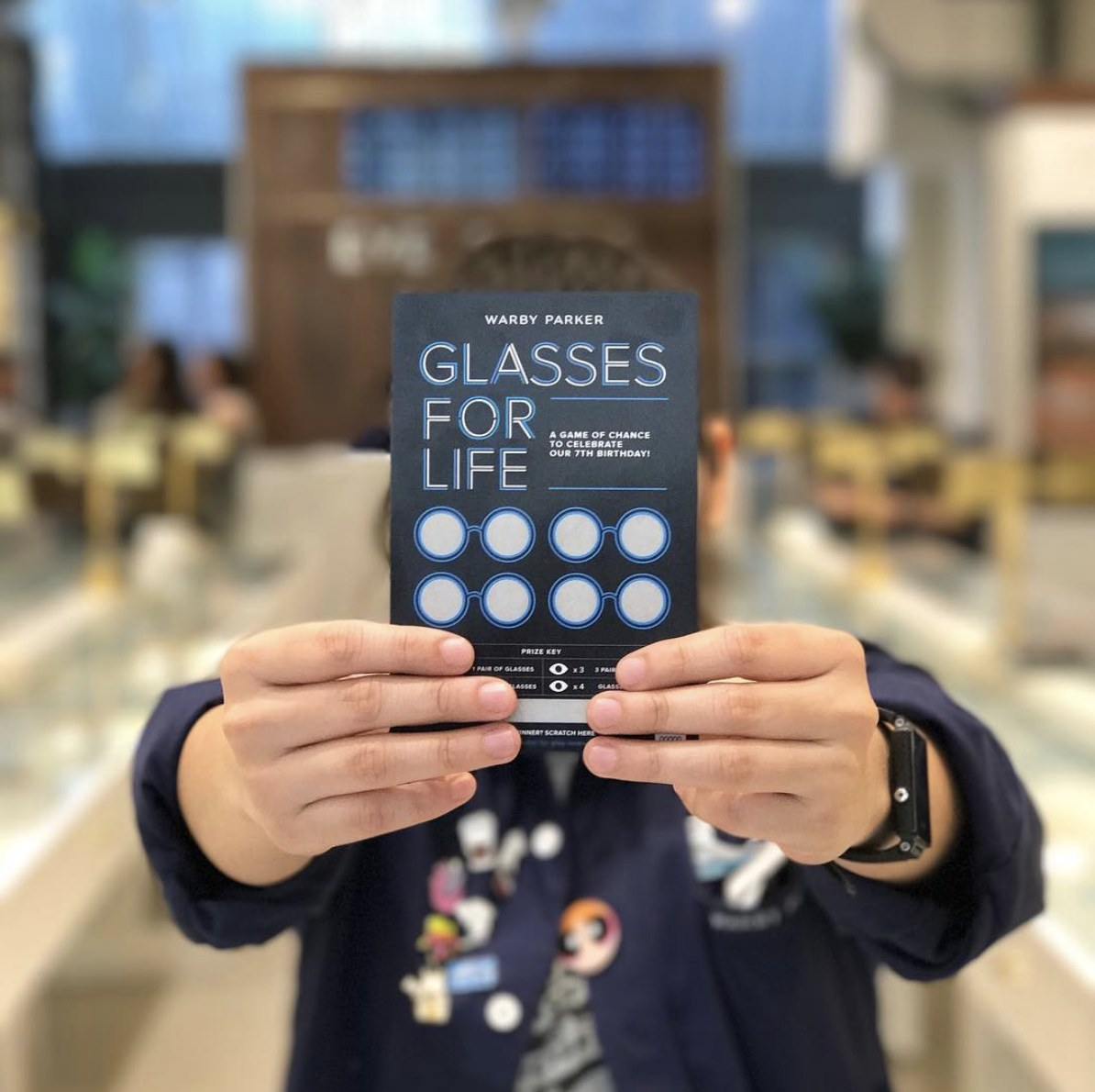 Warby Parker Brand moments