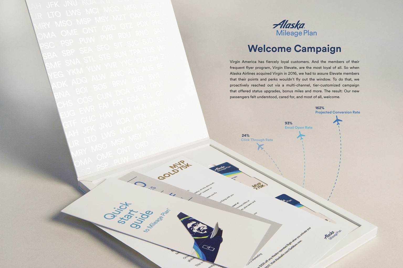 Alaska Airlines - Welcome Campaign