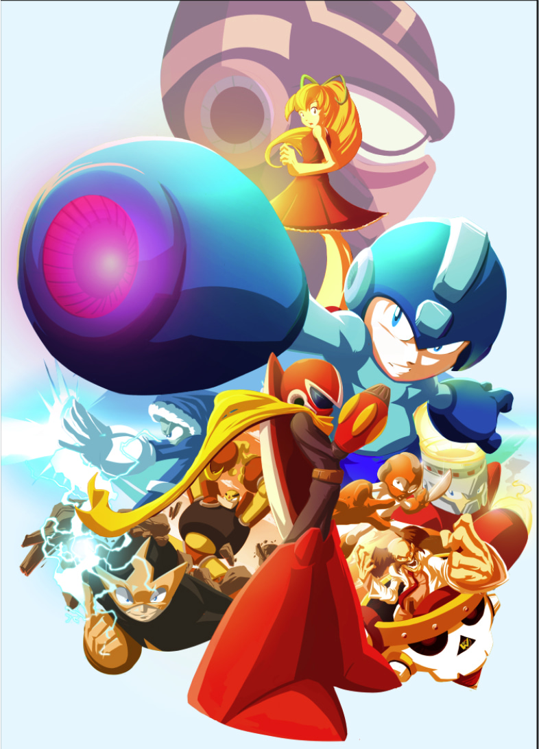 Mega Man Covers