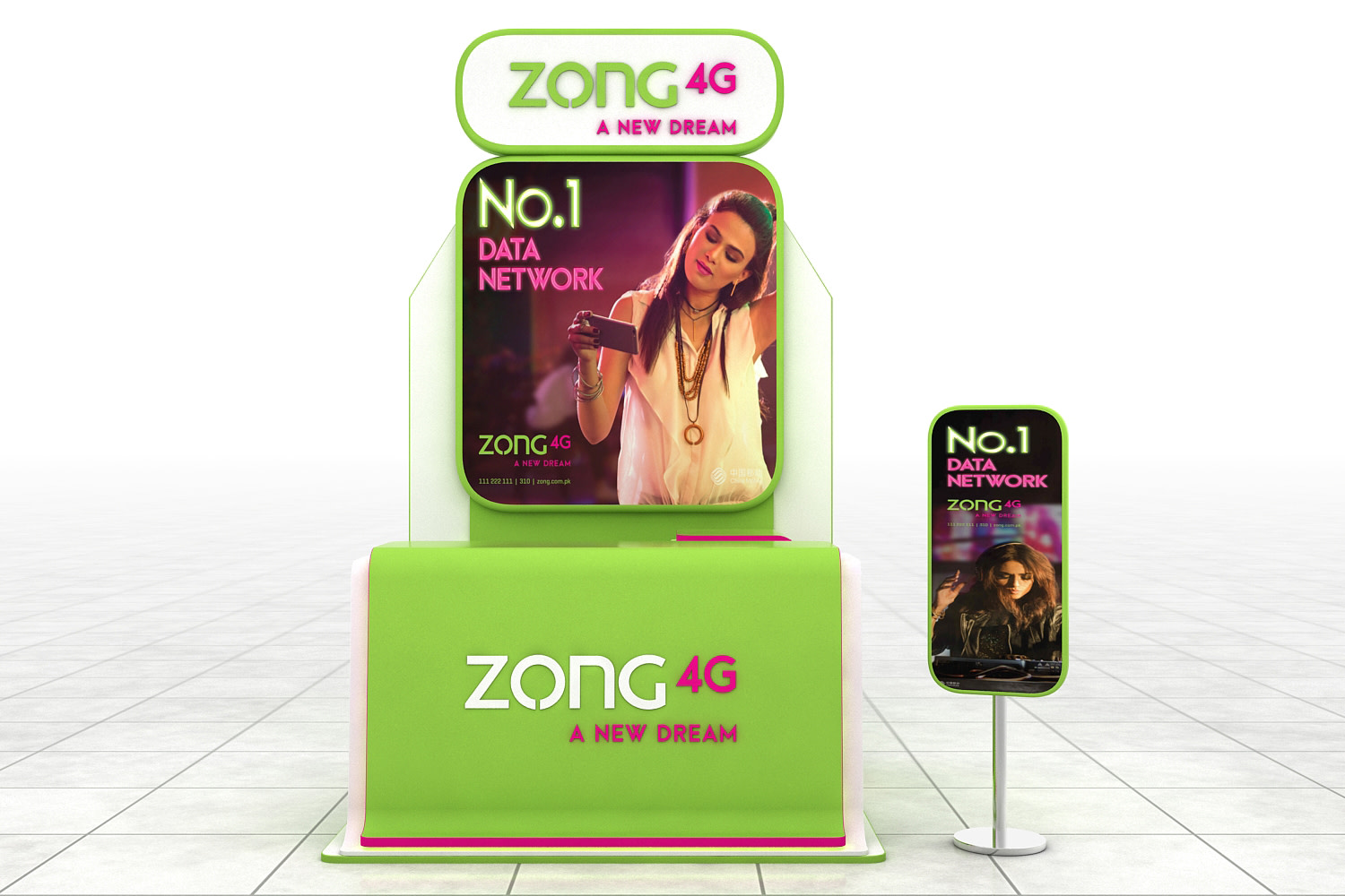 Zong Booth