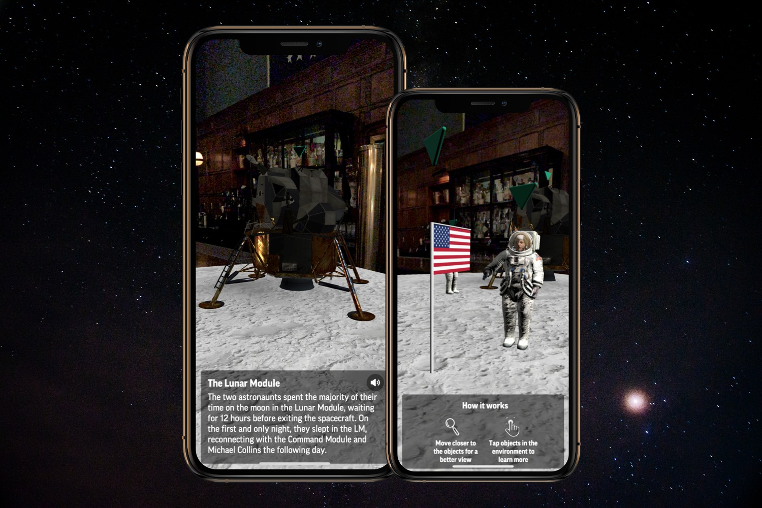 Associated Press: AR First Steps on the Moon