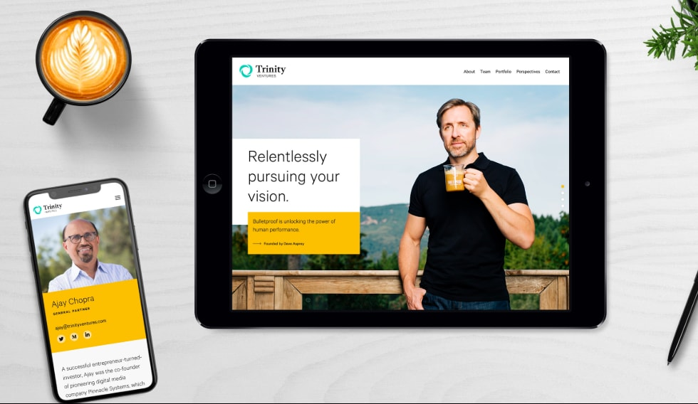 TRINITY VENTURES brand positioning, voice + messaging