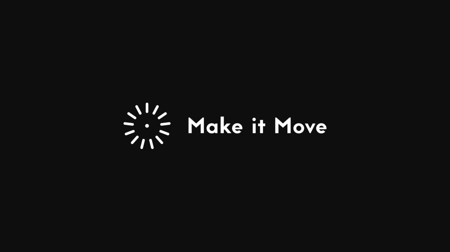 Make it Move — Showreel 2019