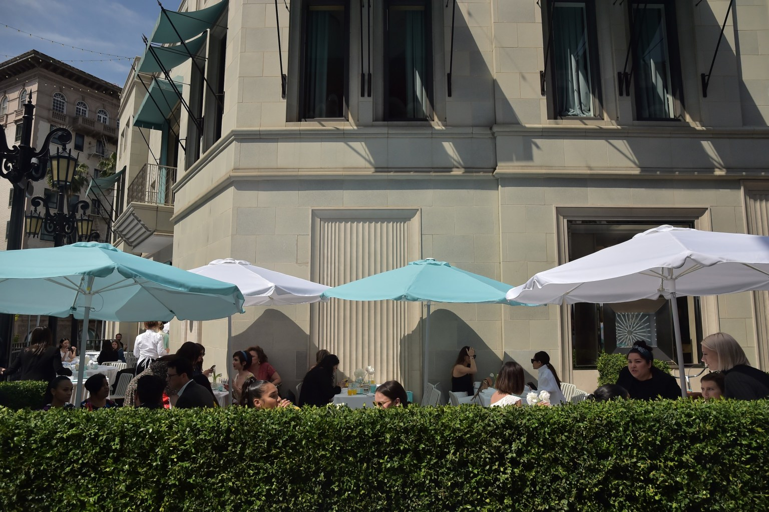 Tiffany Blue Box Cafe : Beverly Hills