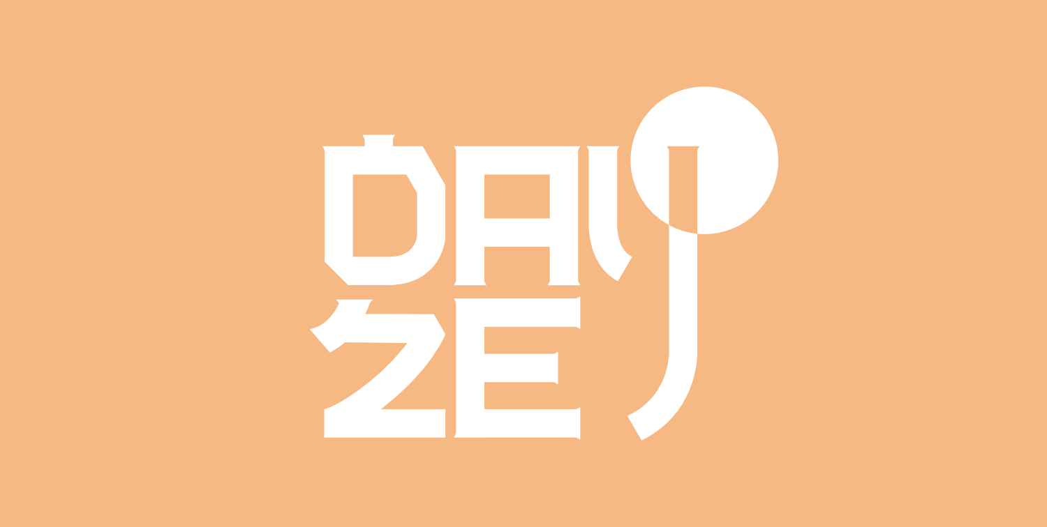 Dayze first single artwork