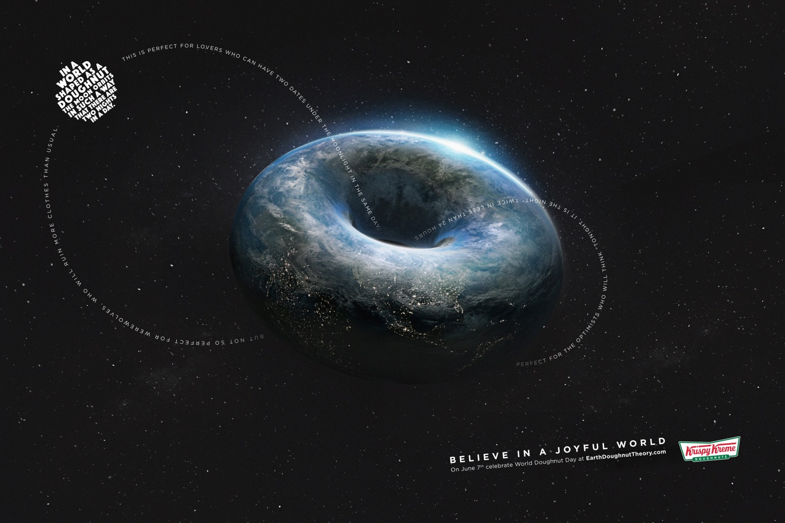Krispy Kreme - Earth Doughnut Theory