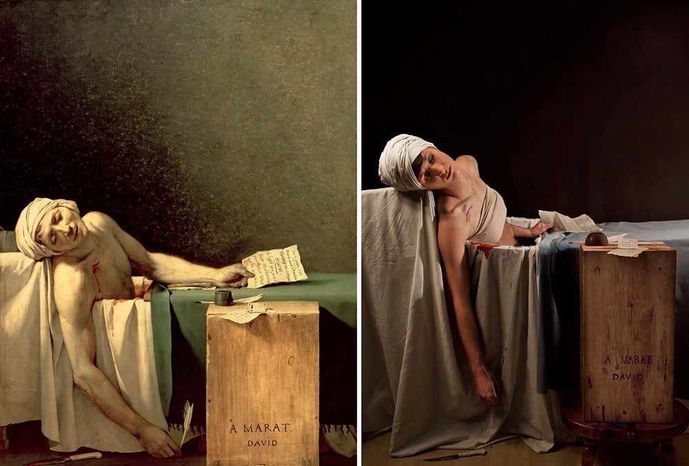Photography : Master Works of Art Reimagined : Remake Book