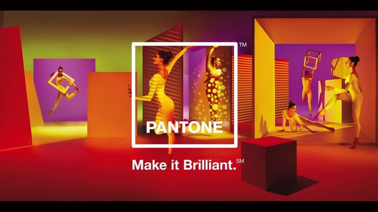 Pantone Make It Brilliant Campaign