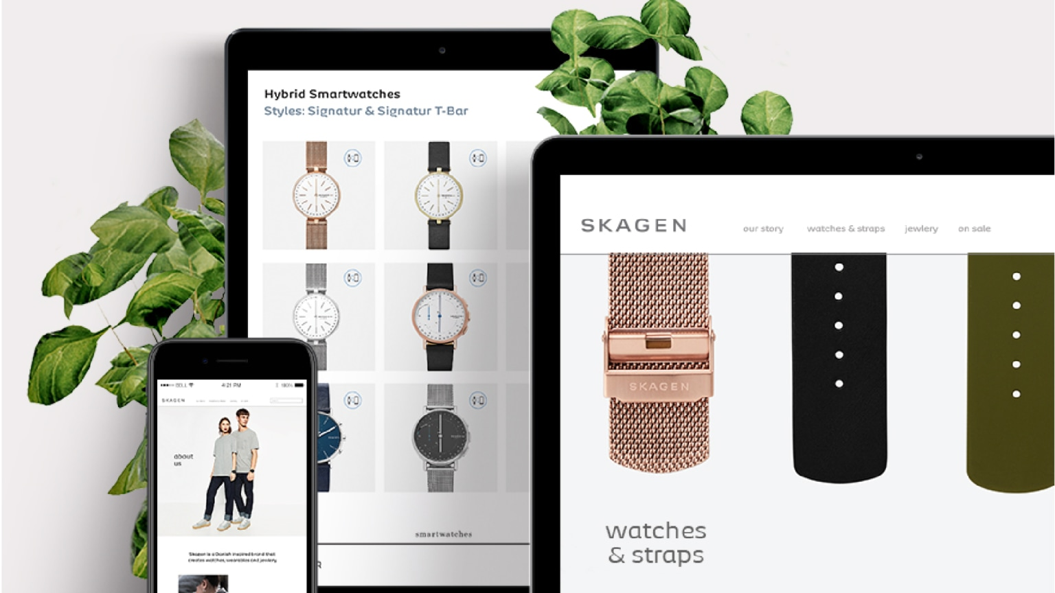 Skagen Navigation Re-Design