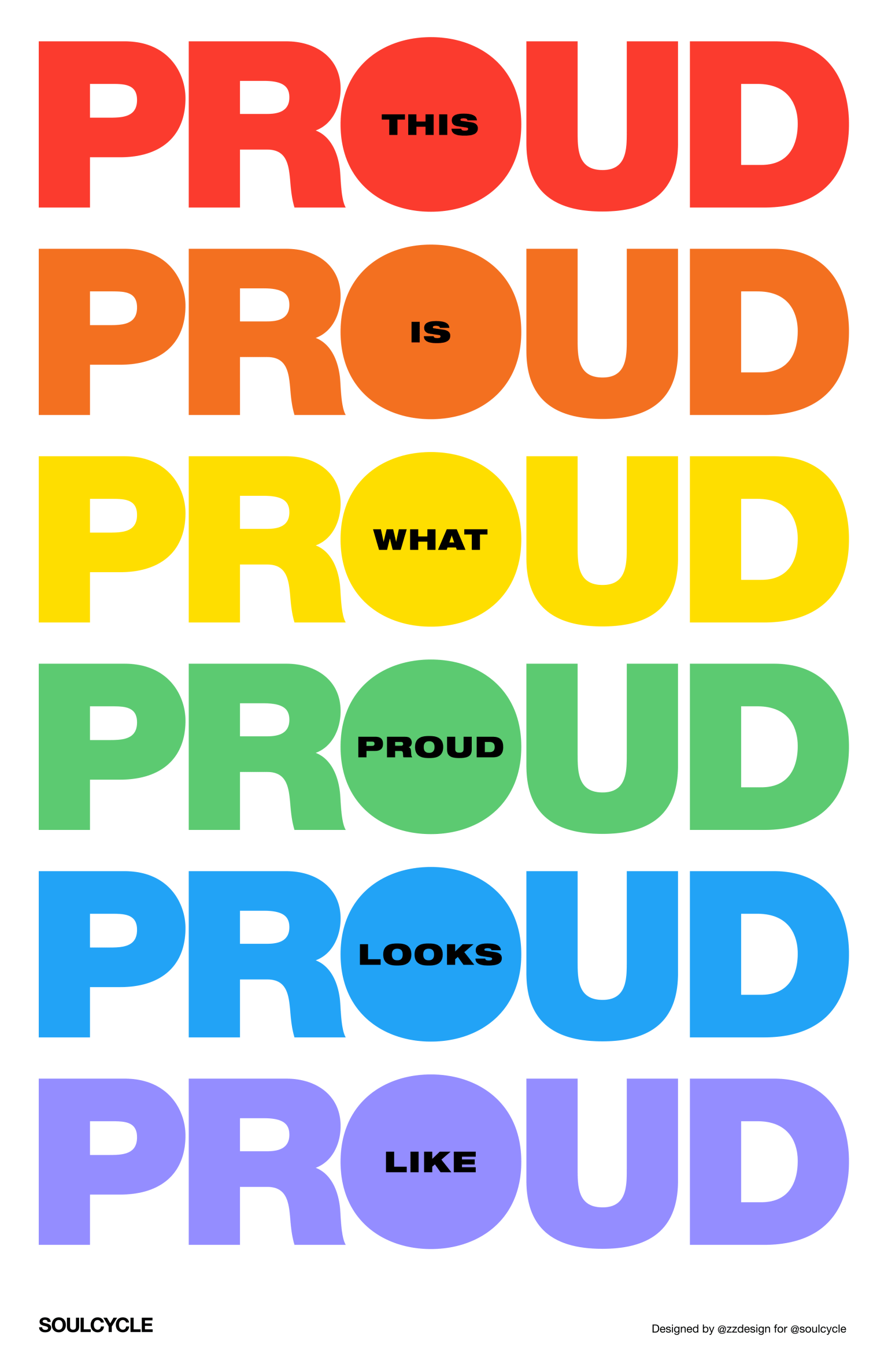 SoulCycle Pride Campaign 2019