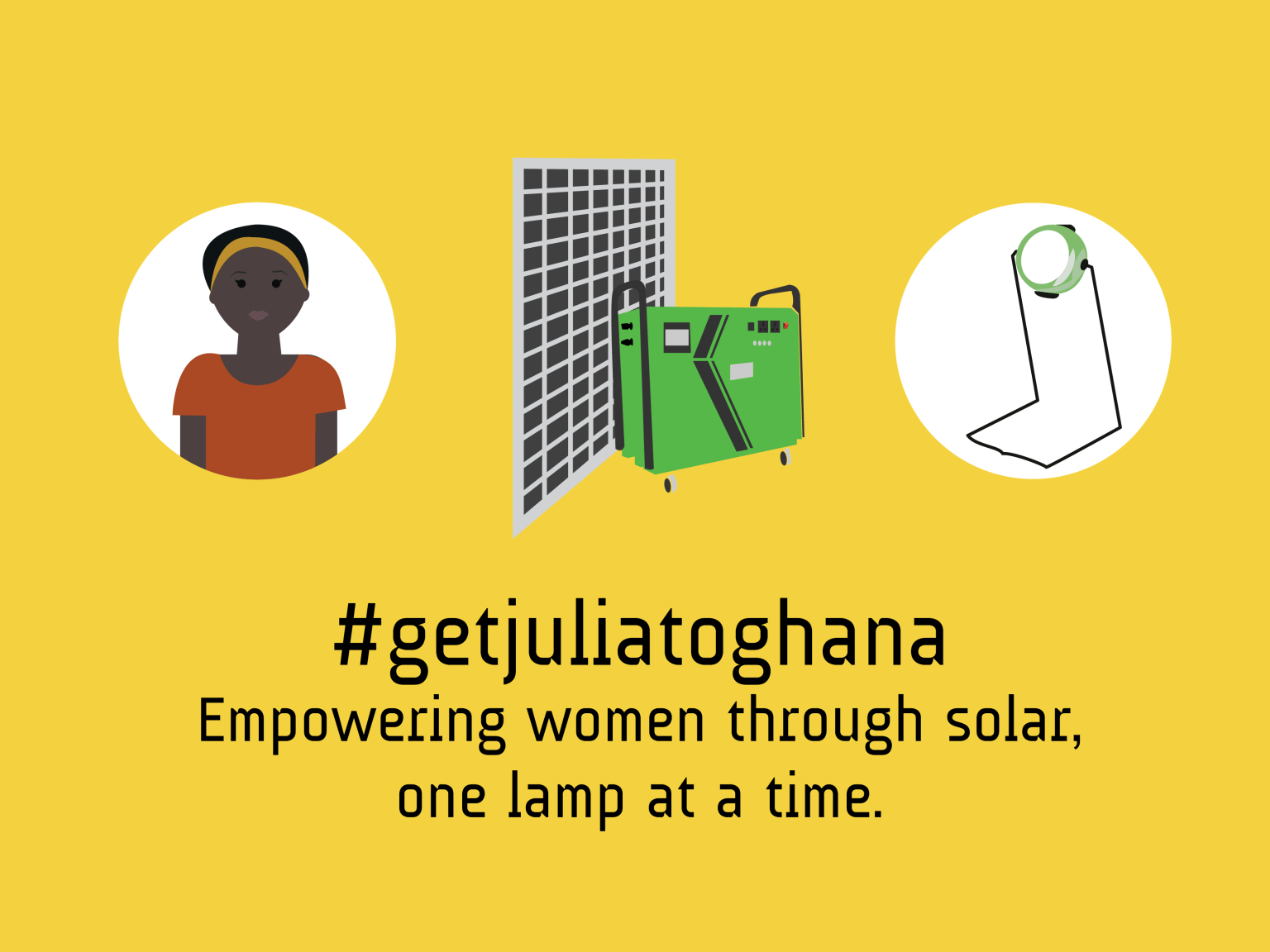Solar Charging Center in Ghana