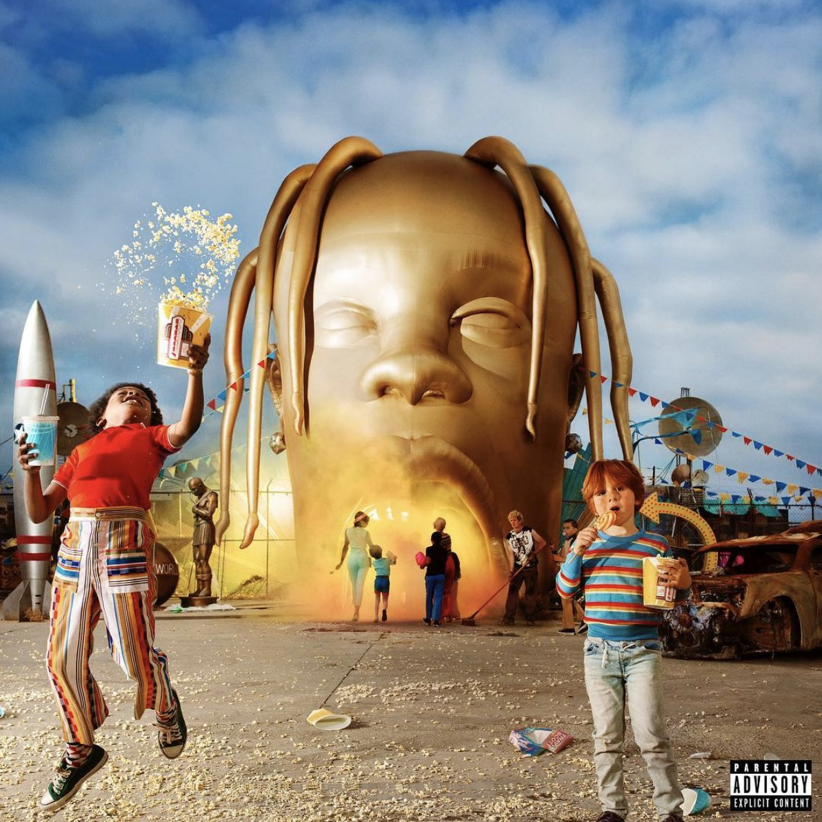 Travis Scott, AstroWorld — Album Launch Campaign