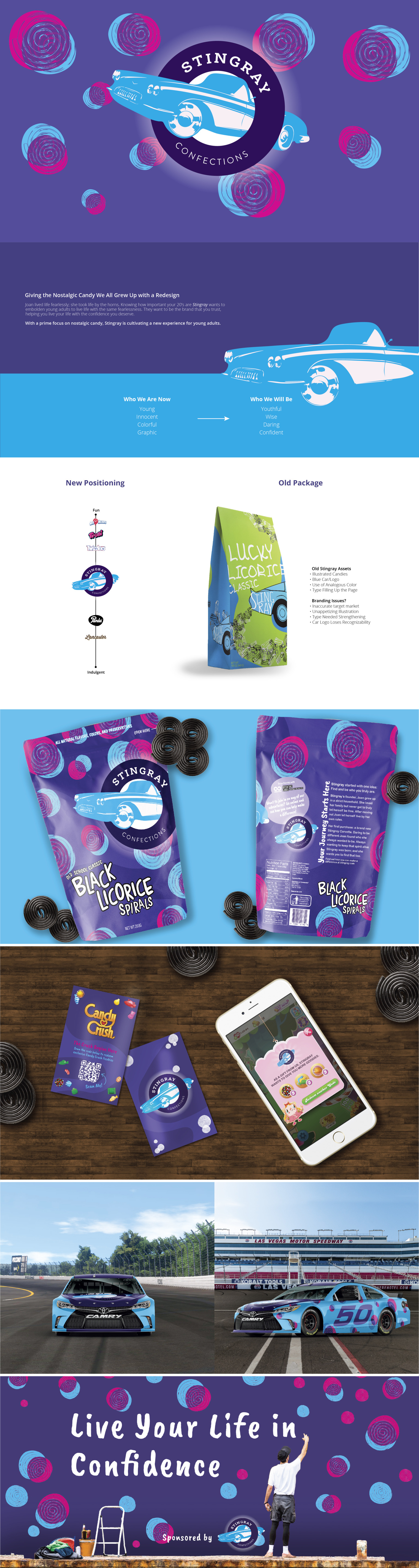 Stingray Confections Redesign