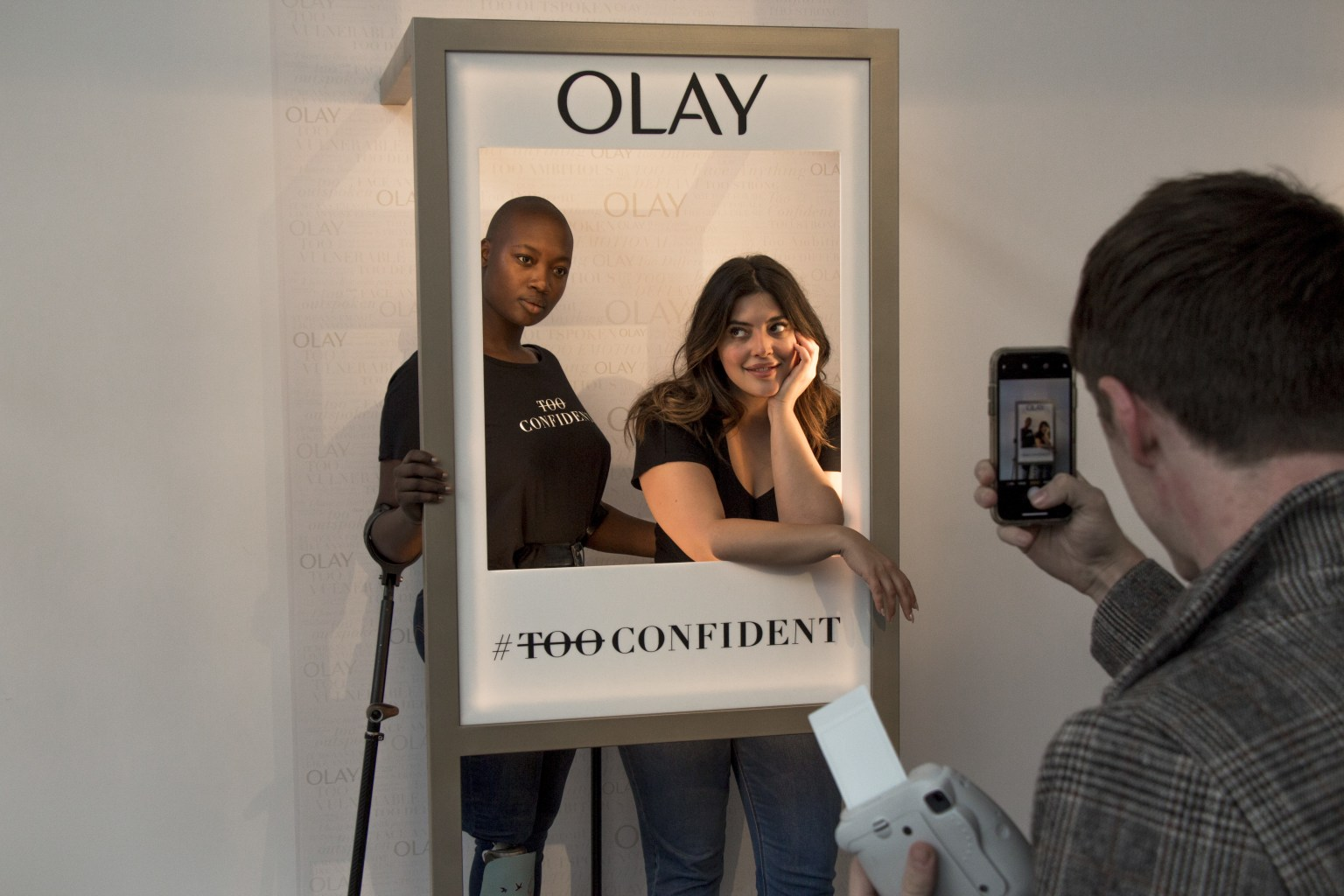 """Face the Runway"" Olay's Face Anything Campaign Launch Activation"