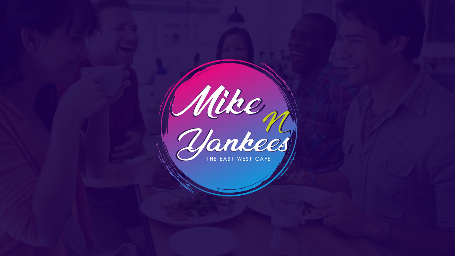 Logo Design - Mike & Yankees Cafe