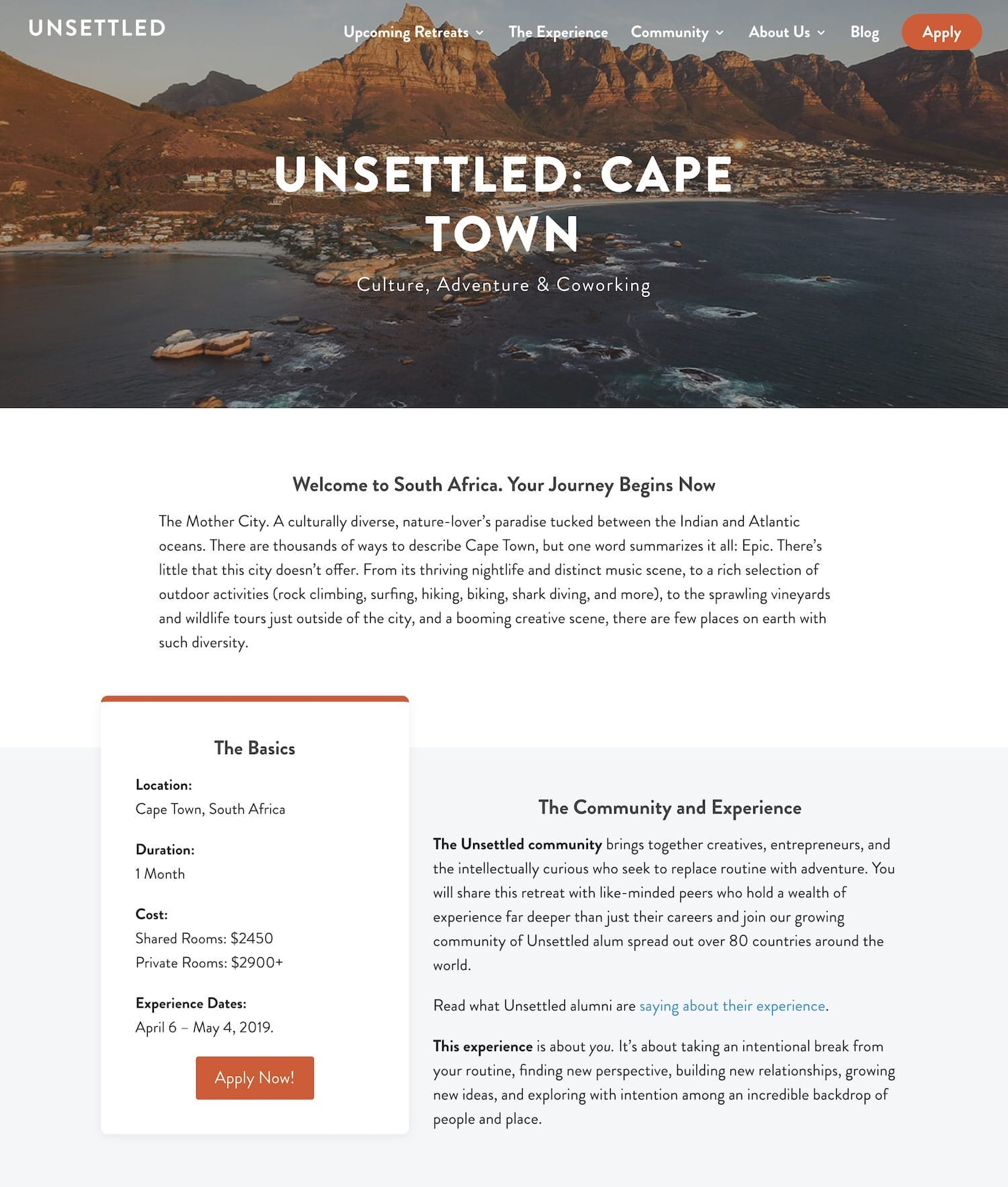 Unsettled Web Migration and Re-Design