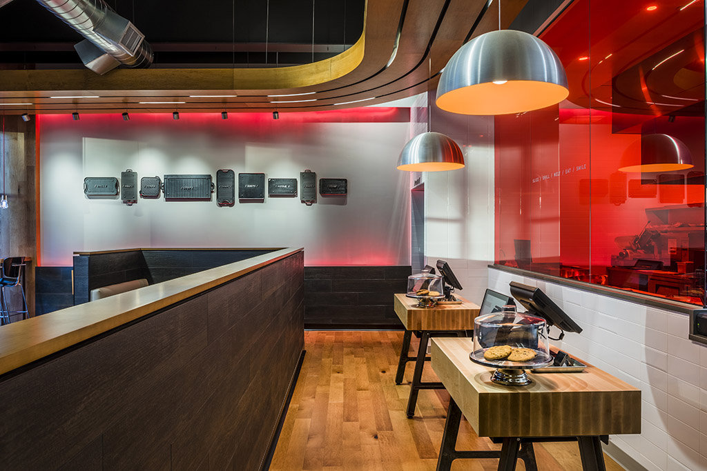 Quiznos Grill Flagship Store Design