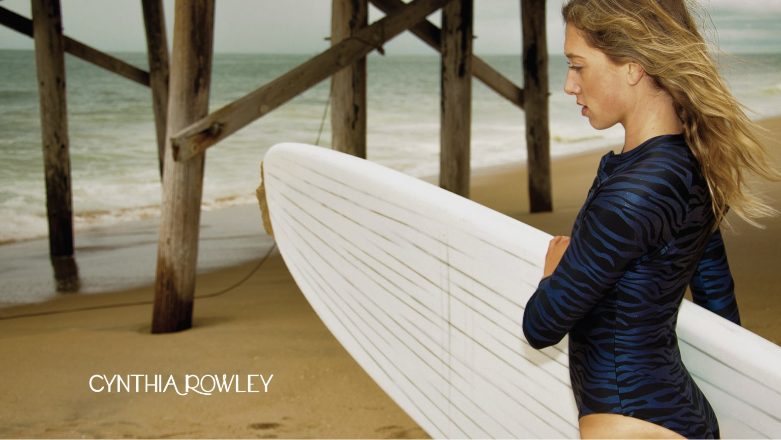 Cynthia Rowley Swim x Vesl Paddleboards