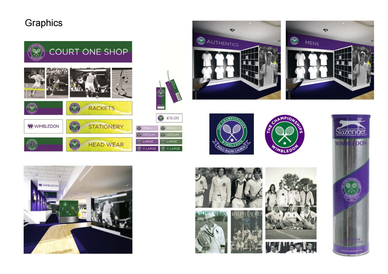 Wimbledon All England Lawn Tennis Club retail projects