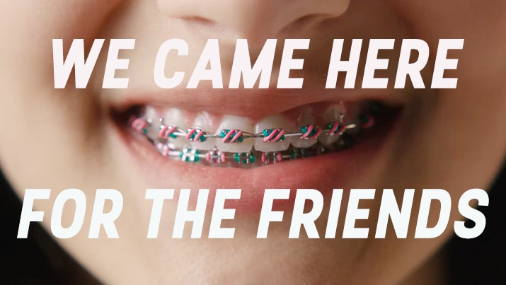 Facebook - We came here for the friends