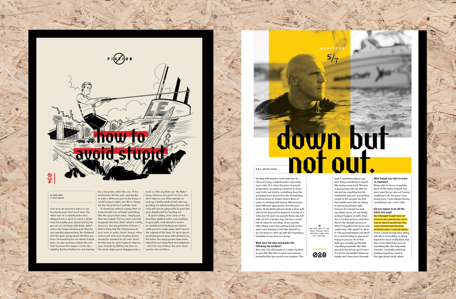 Wakeboarding Magazine Redesign